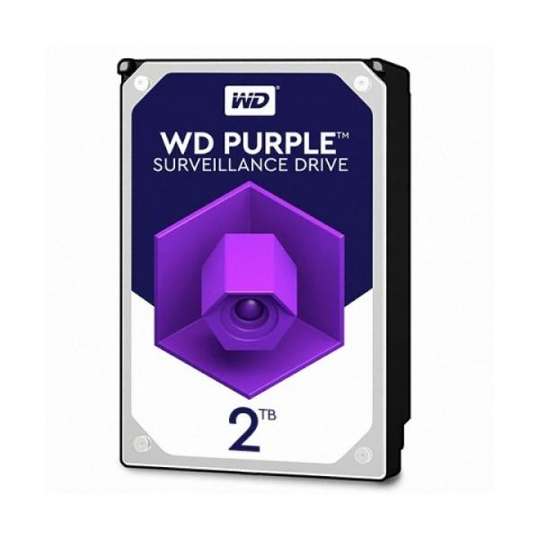 [Western Digital] WD PURPLE HDD 2TB WD20PURZ (3.5HDD/ SATA3/ 5400rpm/ 64MB/ PMR) + 구매시 Sandisk USB 메모리 16GB 증정