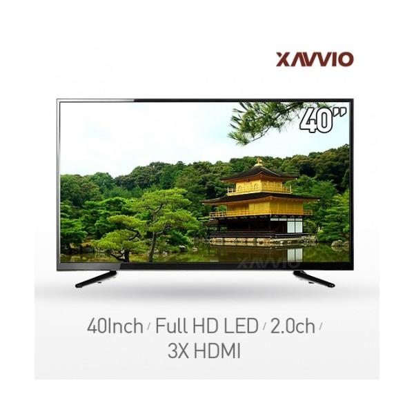 [자비오씨엔씨]  엑사비오 Full HD LED TV X4000HDTV 40형(100cm) [스탠드형][무료배송]