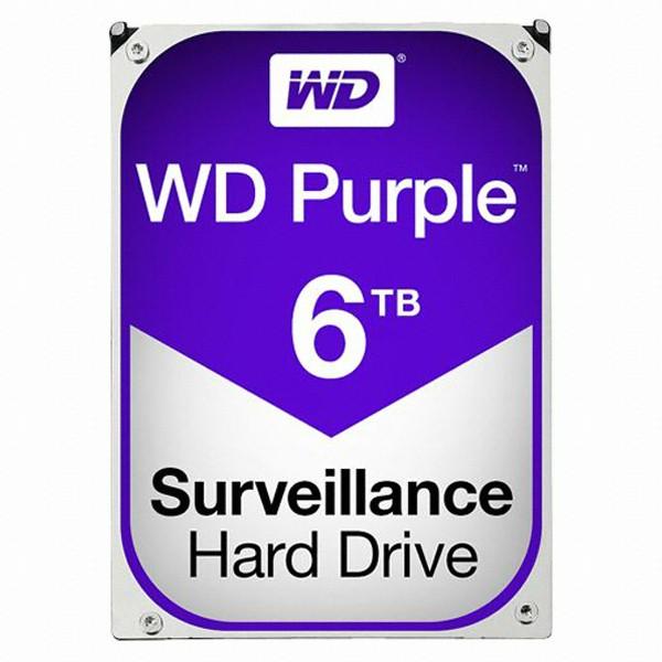 [Western Digital] WD PURPLE HDD 6TB WD60PURZ (3.5HDD/ SATA3/ 5400rpm/ 64MB/ PMR) + 구매시 Sandisk USB 메모리 16GB 증정