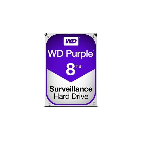 [Western Digital] WD PURPLE HDD 8TB WD82PURZ (3.5HDD/ SATA3/ 7200rpm/ 256MB/ PMR)