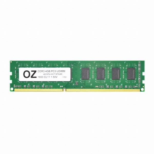 [오존컴퍼니] OZ DDR3 4G PC3-12800 CL11