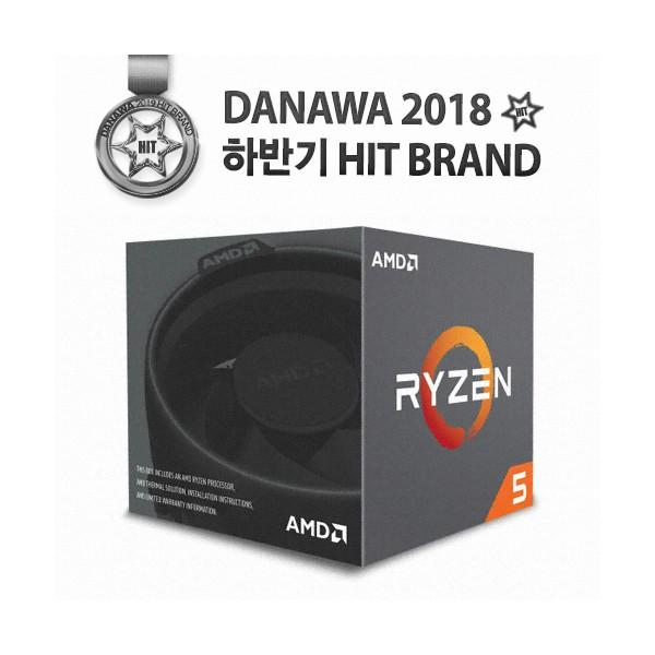 [AMD] 라이젠 5 [컴코블랙페스타] 2600X (피나클 릿지) (정품)
