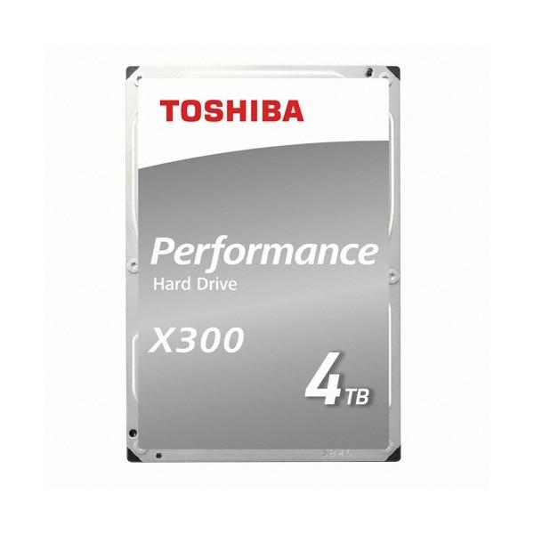 [Toshiba]  X300 4TB HDWE140 (3.5HDD/ SATA3/ 7200rpm/ 128MB/ PMR)