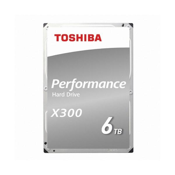 [Toshiba]  X300 6TB HDWE160 (3.5HDD/ SATA3/ 7200rpm/ 128MB/ PMR)
