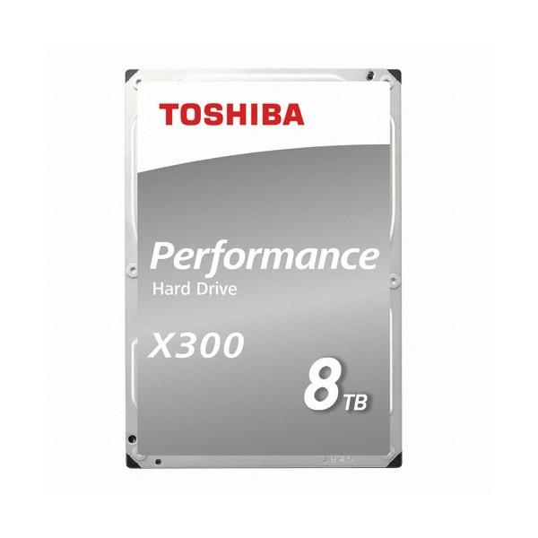 [Toshiba]  X300 8TB HDWR180 (3.5HDD/ SATA3/ 7200rpm/ 128MB/ PMR)
