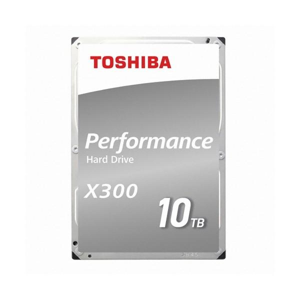 [도시바] TOSHIBA HDD X300 10TB HDWR11A (3.5HDD/ SATA3/ 7200rpm/ 256MB/ PMR)
