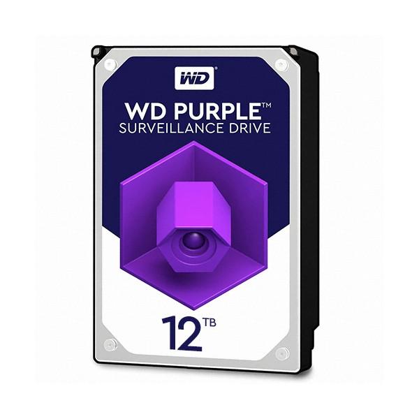 [Western Digital] WD PURPLE HDD 12TB WD121PURZ (3.5HDD/ SATA3/ 7200rpm/ 256MB/ PMR)
