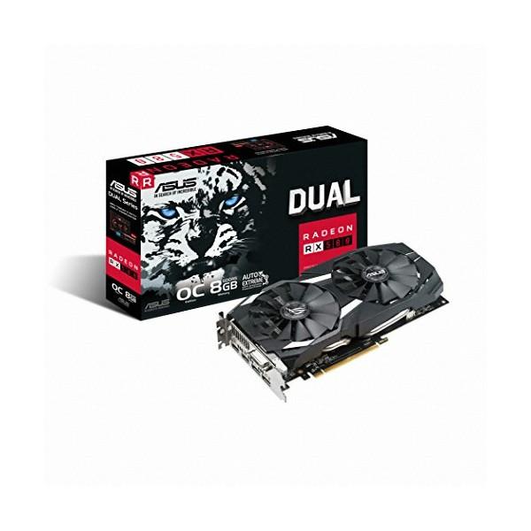 [ASUS] DUAL 라데온 RX 580 O8G D5 8GB