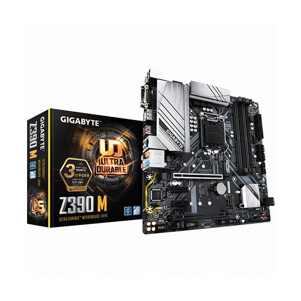 [GIGABYTE]  Z390 M 듀러블에디션 제이씨현 (인텔Z390/M-ATX)