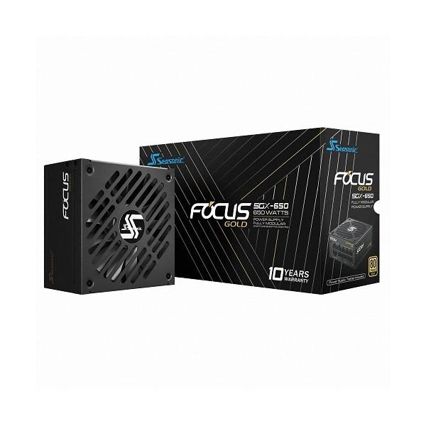[시소닉]  FOCUS SFX-L SSR-650SGX Gold Full Modular