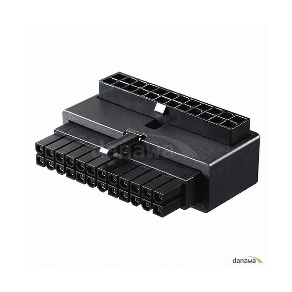 [쿨러마스터]  ATX 24핀 90도 어댑터 Capacitor