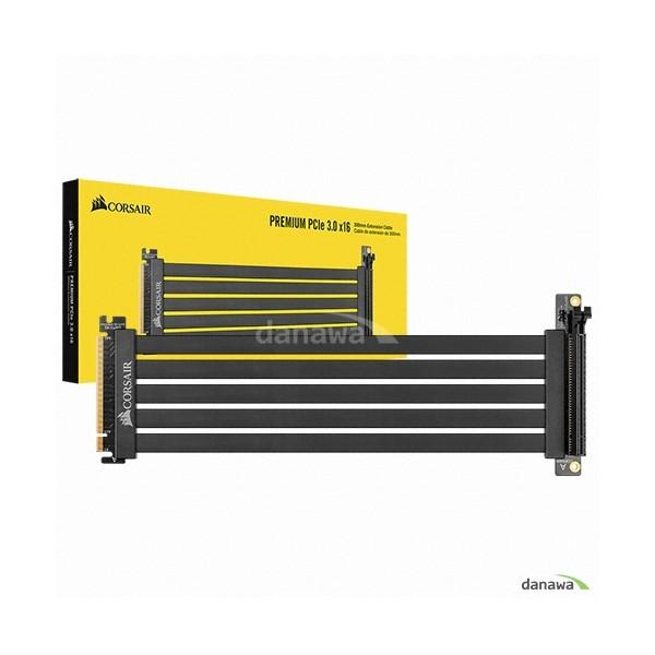 [CORSAIR]  Premium PCIe 3.0 x16 Extension Cable 300mm
