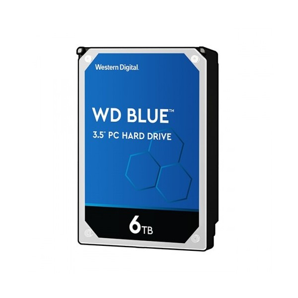 [Western Digital] WD BLUE HDD 6TB WD60EZAZ (3.5HDD/ SATA3/ 5400rpm/ 256MB/ SMR)