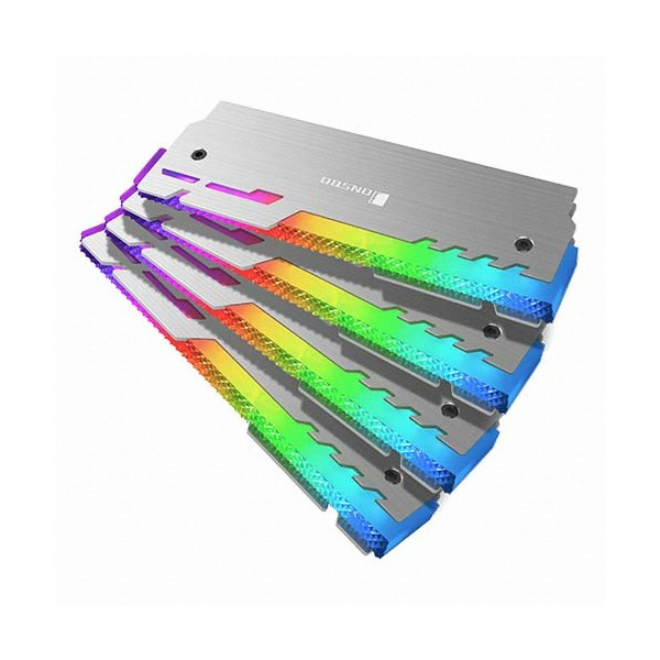 [JONSBO]  NC-3 Addressable RGB 메모리 방열판 (4PACK)