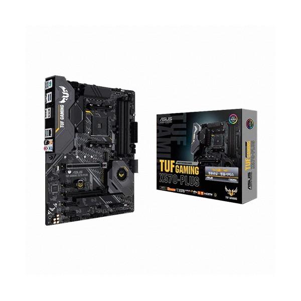 [ASUS] TUF Gaming X570-PLUS 아이보라 (AMD X570/ATX)