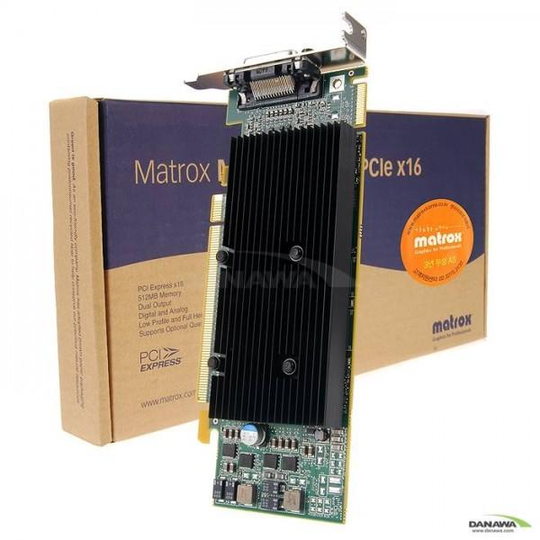 [매트록스]  M9120 PLUS LP PCIe x16 512MB RGB Quad 앤아이피