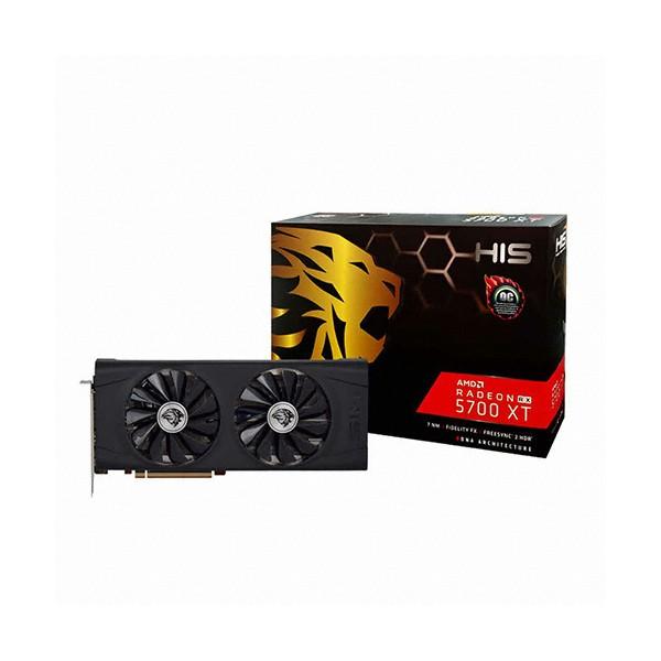 [HIS]  라데온 RX 5700 XT IceQ X2 OC D6 8GB + 장패드 증정