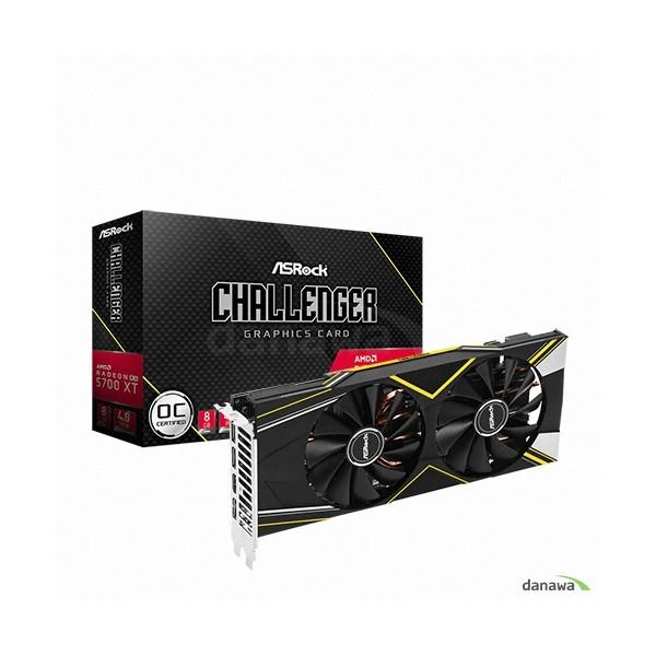 [ASRock]  라데온 RX 5700 XT CHALLENGER D OC D6 8GB 에즈윈