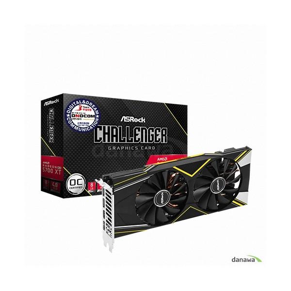 [ASRock]  라데온 RX 5700 XT CHALLENGER D OC D6 8GB 디앤디컴