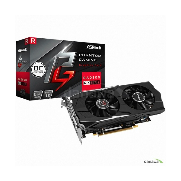 [ASRock] Phantom Gaming D 라데온 RX 570 OC D5 8GB 에즈윈