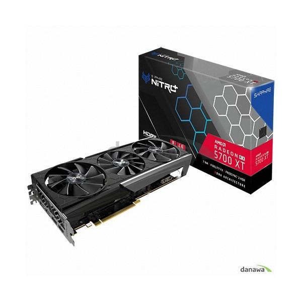 [SAPPHIRE]  라데온 RX 5700 XT NITRO+ OC D6 8GB Tri-X