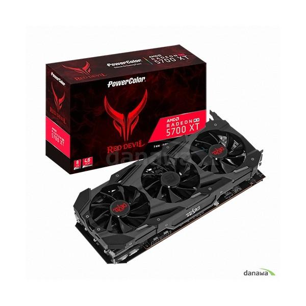 [PowerColor]  라데온 RX 5700 XT 레드데빌 OC D6 8GB