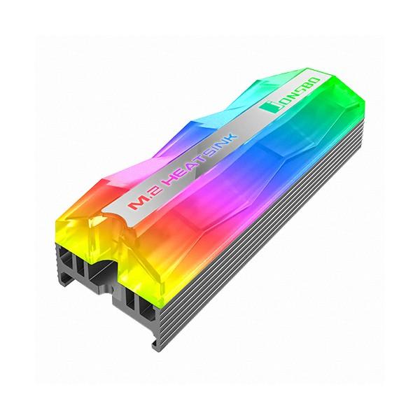 [BRAVOTEC]  JONSBO JELLY M.2 SSD HEATSINK ARGB