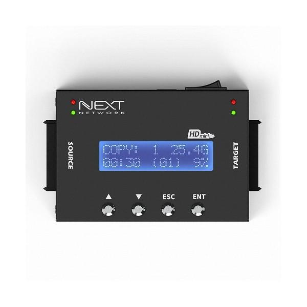 [EzNet]  NEXT-DC101P HDD/SSD 1:1 고속복사기 (스마트복사/완전삭제기)