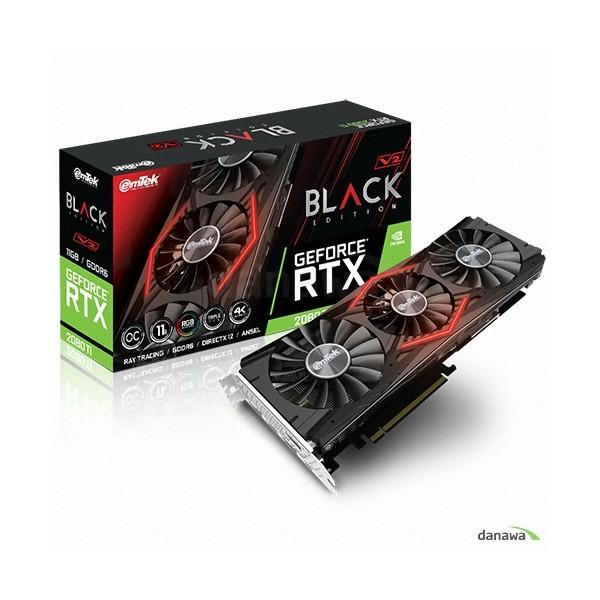 [이엠텍]  지포스 RTX 2080 Ti BLACK EDITION V2 OC D6 11GB