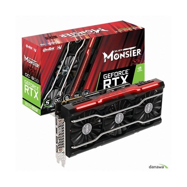 [이엠텍] HV 지포스 RTX 2070 SUPER BLACK MONSTER V2 OC D6 8GB