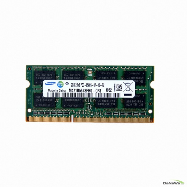 [삼성전자]  노트북 DDR3 2G PC3-8500 (중고, A/S 1개월)