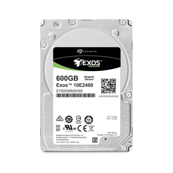 [Seagate]  Exos HDD 10E2400 600GB SAS ST600MM0099 (2.5HDD/ SAS/ 10000rpm/ 256MB/ PMR)