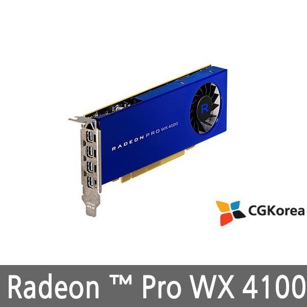 [AMD]  라데온 PRO WX4100 D5 4GB