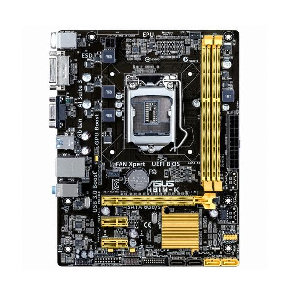 [ASUS]  H81M-K (벌크) + DDR3 4G PC3-12800