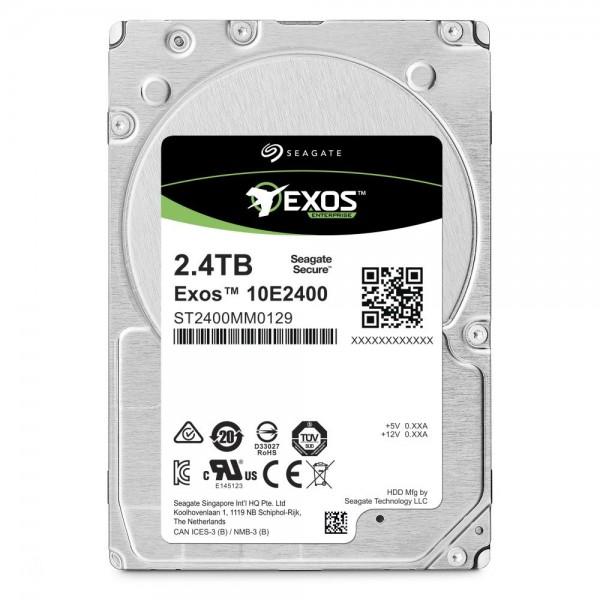 [SEAGATE]  EXOS HDD 2.5 10000RPM SAS 10E2400 2.4TB ST2400MM0129 (2.5HDD/ SAS/ 10000rpm/ 256MB/ PMR)