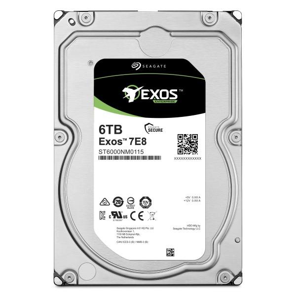 [Seagate]  Exos HDD 7E8 6TB SATA ST6000NM0115 (3.5HDD/ SATA3/ 7200rpm/ 256MB/ PMR) (구매시 2,500원 즉시할인)