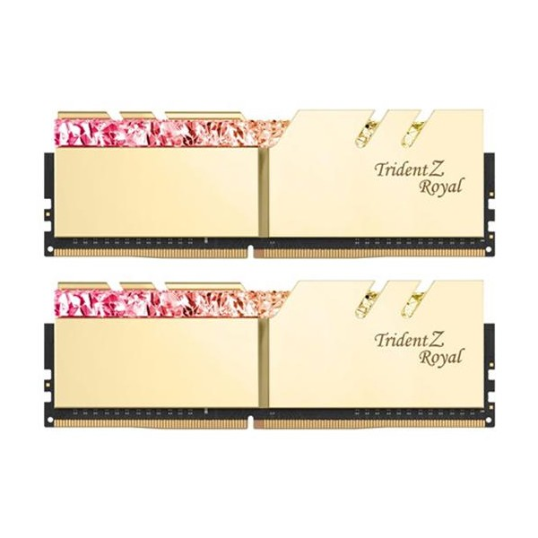 [G.SKILL]  G.SKILL DDR4 16G PC4-28800 CL17 TRIDENT Z ROYAL 골드 (8Gx2)