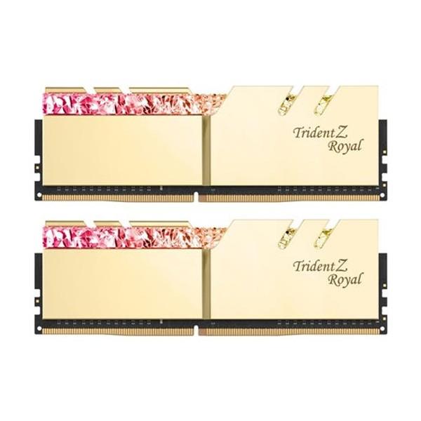 [G.SKILL]  G.SKILL DDR4 16G PC4-34100 CL19 TRIDENT Z ROYAL 골드 (8Gx2)