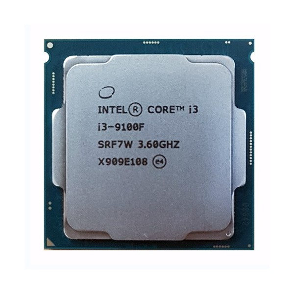 [인텔] 코어i3-9세대 9100F (커피레이크-R) (벌크) (쿨러미포함)