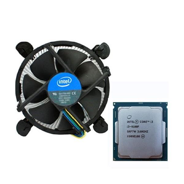 [인텔] 코어i3-9세대 9100F (커피레이크-R) (벌크 + 쿨러)