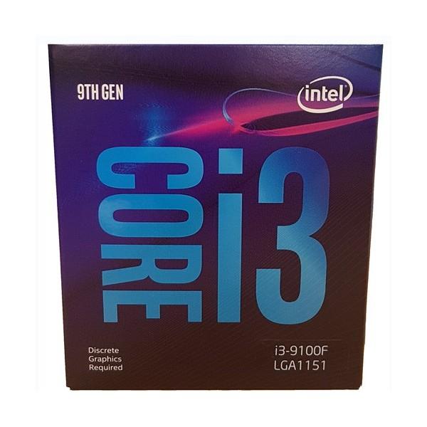 [인텔] 코어i3-9세대 9100F (커피레이크-R) (병행수입 박스)