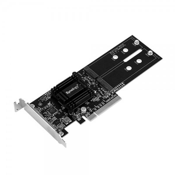 [Synology]  M2D18 듀얼 M.2 SSD 어댑터 카드