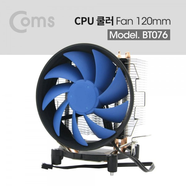 [Coms]  쿨러 CPU / 120mm / Intel LGA 115X/775 / AMD FM2 /FM2/FM1/AM3 /AM2 /AM2 [BT076]