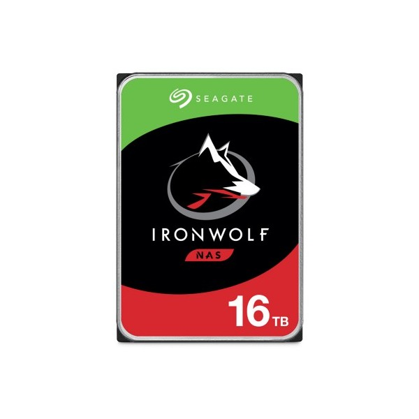 [SEAGATE]  IRONWOLF HDD 16TB ST16000VN001 (3.5HDD/ SATA3/ 7200rpm/ 256MB/ PMR)