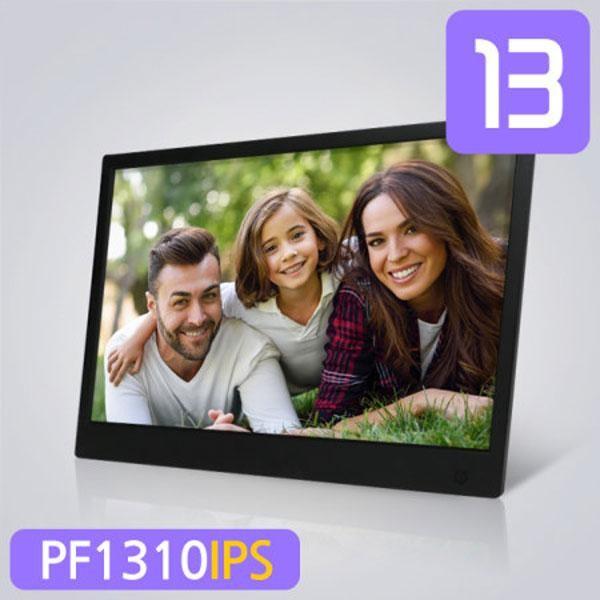[카멜]  [(주)카멜] 디지털액자 PF-1310IPS  HDMI 단자/미니모니터/사진/동영상 [13인치] [화이트]