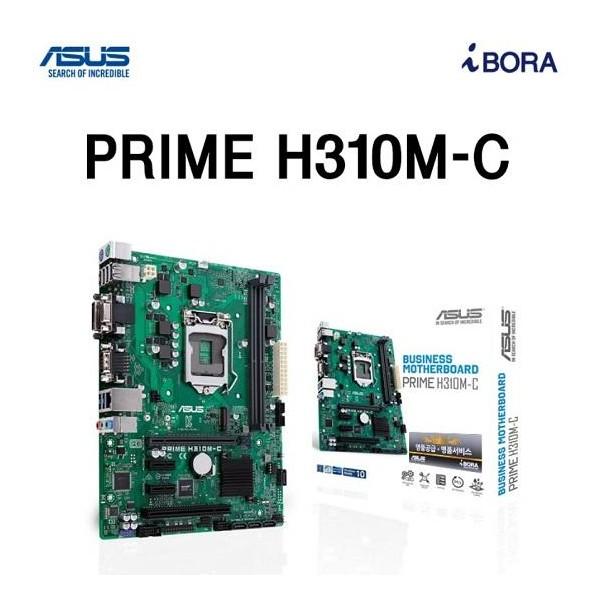[ASUS] PRIME H310M-C R2.0 아이보라 (벌크) (인텔H310/M-ATX)