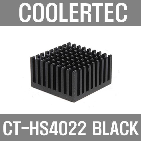 [쿨러텍] 쿨러텍 쿨러텍 CT-HS4022 BLACK 칩셋방열판