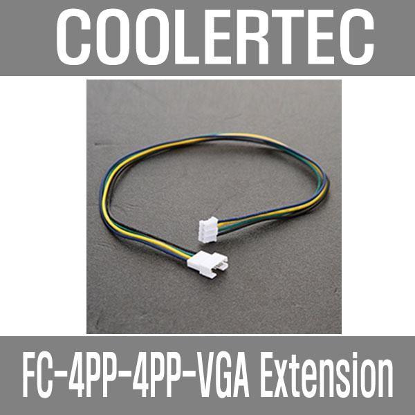 [쿨러텍] 쿨러텍 쿨러텍 VGA PWM 연장케이블 FC-4PP-4PP-VGA Extension