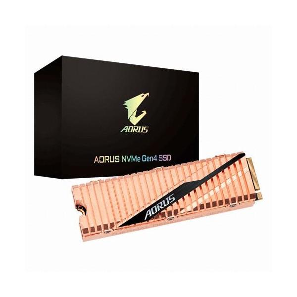 [GIGABYTE]  AORUS Gen4 SSD M.2 2280 NVMe 500GB TLC 제이씨현