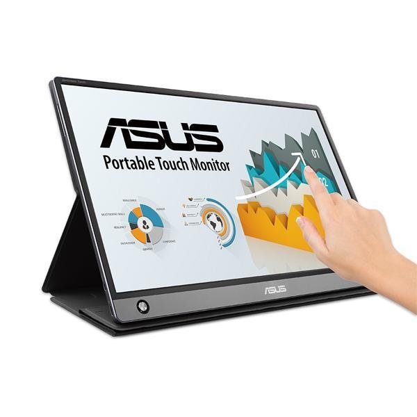 [ASUS] ASUS ASUS ZenScreen Touch 휴대용 터치모니터 MB16AMT